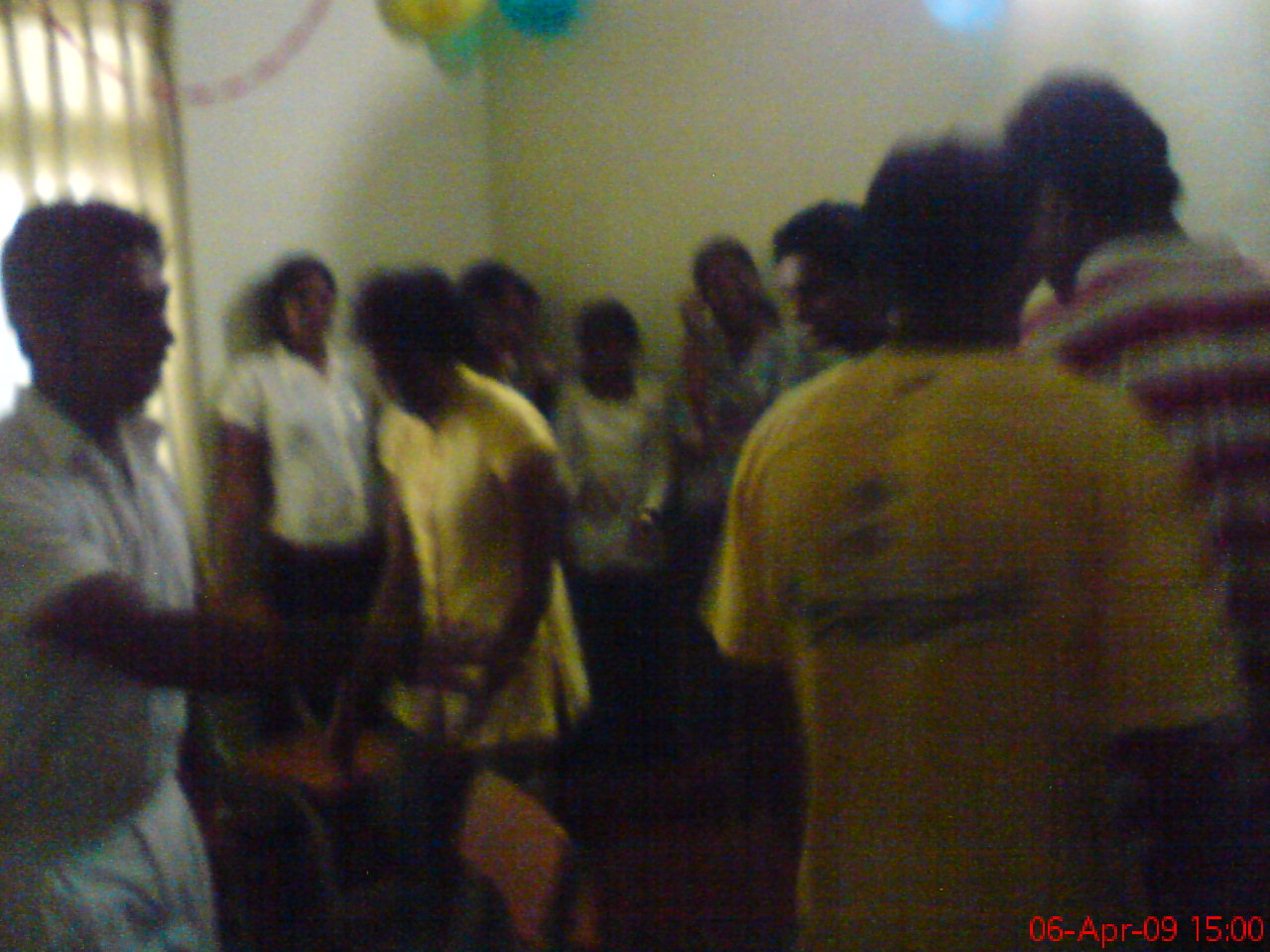 A game at Farewell party of Batch 93